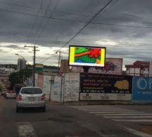 TRÊS CORAÇÕES GANHA NOVA OPÇÃO DE MÍDIA – UM PAINEL DE LED EXCLUSIVO