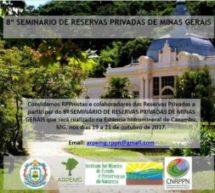 Caxambu recebe VIII Seminário de Reservas Privadas de Minas Gerais