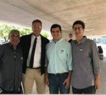Prefeito e vereadores viajam a Brasília em busca de recursos